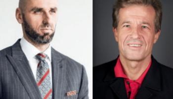 Gold Medal Award 2020 recipients Artur Chmielewski and Marcin Gortat